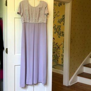 Light Purple Long Dress